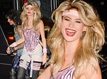 Los Angeles, CA - Adam Levine and Behati Prinsloo arrive at a Halloween Party in Los Angeles with some friends.\nAKM-GSI       October 31, 2014\nTo License These Photos, Please Contact :\nSteve Ginsburg\n(310) 505-8447\n(323) 423-9397\nsteve@akmgsi.com\nsales@akmgsi.com\nor\nMaria Buda\n(917) 242-1505\nmbuda@akmgsi.com\nginsburgspalyinc@gmail.com