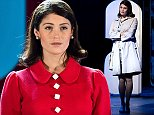 """LONDON, ENGLAND - OCTOBER 31:  Gemma Arterton performs on stage during a photocall for """"Made In Dagenham"""" at Adelphi Theatre on October 31, 2014 in London, England.  (Photo by Ben A. Pruchnie/Getty Images)"""