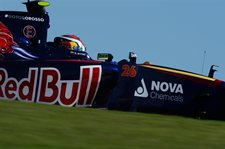 Daniil Kvyat (RUS) Scuderia Toro Rosso STR9. Formula One World Championship, Rd17, United States Grand Prix, Practice, Austin, Texas, USA, Friday, 31 October 2014