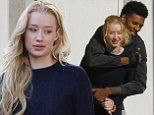 Picture Shows: Iggy Azalea, Amethyst Amelia Kelly, Amethyst Kelly, Nick Young  November 02, 2014\n \n Rapper Iggy Azalea and her NBA player boyfriend Nick Young spotted out and about in Los Angeles, California. After lunching at Cheesecake Factory, the couple stopped by a Public Storage to pick up some moving supplies. While waiting, the two had a dance-off and took turns showing off their dance moves and laughing.\n \n Exclusive all Rounder\n UK RIGHTS ONLY\n \n Pictures by : FameFlynet UK © 2014\n Tel : +44 (0)20 3551 5049\n Email : info@fameflynet.uk.com