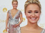 66th Annual Primetime Emmy Awards. on August 25, 2014 at Nokia Theatre L.A. Live in Los Angeles, California.  Pictured: Hayden Panettiere Ref: SPL828602  260814   Picture by: @Parisa / Splash News  Splash News and Pictures Los Angeles: 310-821-2666 New York: 212-619-2666 London: 870-934-2666 photodesk@splashnews.com