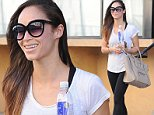Cara Santana looks radiant after a workout\nFeaturing: Cara Santana\nWhere: Los Angeles, California, United States\nWhen: 03 Nov 2014\nCredit: WENN.com