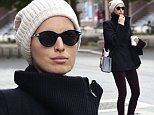 128577, Karolina Kurkova texts and holds her coffee while waiting for a cab in Tribeca in NYC. New York, New York - Sunday November 2, 2014. Photograph: © PacificCoastNews. Los Angeles Office: +1 310.822.0419 sales@pacificcoastnews.com FEE MUST BE AGREED PRIOR TO USAGE