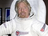 Mandatory Credit: Photo by Charles Sykes/REX (517683c)  Richard Branson promoting Virgin Galactic  VOLVO PRESS CONFERENCE AT THE NEW YORK AUTO SHOW, NEW YORK, AMERICA - 24 MAR 2005