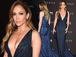 LOS ANGELES, CA - NOVEMBER 01:  Actress/singer Jennifer Lopez attends the 2014 LACMA Art + Film Gala honoring Barbara Kruger and Quentin Tarantino presented by Gucci at LACMA on November 1, 2014 in Los Angeles, California.  (Photo by Steve Granitz/WireImage)