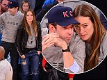 NEW YORK, NY - NOVEMBER 02:  Jason Sudeikis and Olivia Wilde attend New York Knicks vs Charlotte Hornets game at Madison Square Garden on November 2, 2014 in New York City.  (Photo by James Devaney/GC Images)