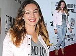 LOS ANGELES, CA, USA - NOVEMBER 02: 2014 Stand Up For Pits Event held at Improv on November 2, 2014 in Los Angeles, California, United States. (Photo by Xavier Collin/Celebrity Monitor)  Pictured: Kelly Brook Ref: SPL880947  021114   Picture by: Xavier Collin/Celebrity Monitor  Splash News and Pictures Los Angeles: 310-821-2666 New York: 212-619-2666 London: 870-934-2666 photodesk@splashnews.com