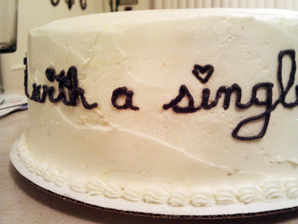 SwankyLuv: Weddings: Shower Cake