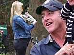 Michael Lohan and his girlfriend Kate Major spotted with their son Landon at the Central Park Zoo today in NYC. Kate is pictured showing signs of her pregnancy with a baby bump. \n\nPictured: Michael Lohan, Kate Major, Landon Lohan\nRef: SPL882962  051114  \nPicture by: Lenny Abbot / Splash News\n\nSplash News and Pictures\nLos Angeles: 310-821-2666\nNew York: 212-619-2666\nLondon: 870-934-2666\nphotodesk@splashnews.com\n