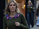 5 November 2014 - EXCLUSIVE.\nExclusive, James Middleton's girlfriend Donna Air seen leaving a butchers in Chelsea this afternoon.\nCredit: GoffPhotos.com   Ref: KGC-102