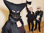 """LONDON, ENGLAND - NOVEMBER 05:  Debbie Harry (L) and Chris Stein attend the private view of """"Chris Stein/Negative: Me, Blondie and the Advent of Punk"""" at Somerset House on November 5, 2014 in London, England.  (Photo by David M. Benett/Getty Images)"""
