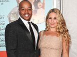 Mandatory Credit: Photo by MediaPunch/REX (3927430l).. Donald Faison and Cacee Cobb.. 'Wish I Was Here' Film Premiere, New York, America - 14 Jul 2014.. ..
