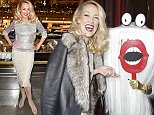 PARIS, FRANCE - NOVEMBER 05:  Jerry Hall attends Christmas decorations inauguration at Galeries Lafayette on November 5, 2014 in Paris, France.  (Photo by Pascal Le Segretain/Getty Images)