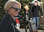 EXCLUSIVE Actress Margot Robbie and Tom Ackerley out and about in London Featuring: Margot Robbie,Tom Ackerley Where: London, United Kingdom When: 05 Nov 2014 Credit: WENN.com
