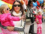 TV personality Bethenny Frankel celebrates her 44th birthday with her daughter Bryn Hoppy and dog Cookie by picking up party hats at the Balloon Saloon in Tribeca on November 4, 2014 in New York City\n\nPictured: Bryn Hoppy,Bethenny Frankel\nRef: SPL882488  041114  \nPicture by: Christopher Peterson/Splash News\n\nSplash News and Pictures\nLos Angeles: 310-821-2666\nNew York: 212-619-2666\nLondon: 870-934-2666\nphotodesk@splashnews.com\n