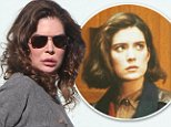 128731, EXCLUSIVE: Lara Flynn Boyle leaves lunch at La Scala in Beverly Hills. Lara was reportedly upset at the recent snub from the 'Twin Peaks' reboot, the 1990s cult TV series of which she was an original star. Los Angeles, California - Wednesday November 5, 2014. Photograph: © PacificCoastNews. Los Angeles Office: +1 310.822.0419 sales@pacificcoastnews.com FEE MUST BE AGREED PRIOR TO USAGE