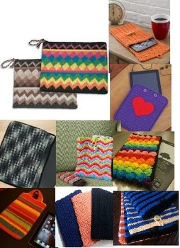 Crochet a cover for your tablet, iPad, Kindle or other reading device