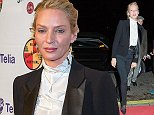 "2014-11-07, Stockhom, Sweden\nIn pic: Uma Thurman \nRed carpet mingle on the cinema Park in Stockholm. On the red carpet we saw Uma Thurman how is in Sweden. She was doing a Q&A with fans and press and to recive the award ""Bronsh¿sten"" from Sweden Film Festival. She did not stop on the red carpet cause she didnt want any pictures taken with the press. She is: ""...a litle bit sick"". Just the fans she stoped for and did not turn around for the press.\nBYLINE MUST BE USED : ISOIMAGES\nUK publications should be aware children's faces may need pixelating."