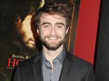 Mandatory Credit: Photo by Gregory Pace/BEI/REX (4223078p)  Daniel Radcliffe  'Horns' film premiere, Cinema Society film screening, New York, Amerrica - 27 Oct 2014