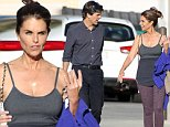 Picture Shows: Timothy Shriver, Maria Shriver  November 06, 2014\n \n Birthday girl Maria Shriver is seen celebrating her fifty-ninth birthday by going out to breakfast with her brother Timothy in Brentwood, California.\n \n Maria looked laid-back and casual in a gray singlet, purple leggings and black trainers.\n \n Exclusive All Rounder\n UK RIGHTS ONLY\n \n Pictures by : FameFlynet UK © 2014\n Tel : +44 (0)20 3551 5049\n Email : info@fameflynet.uk.com