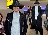 Alicia Keys arrives at Glasgow Airport ahead of MTV EMAs being held at the SEE Hydro in Glasgow. November 07 2014.