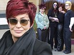 Television programme : The Osbournes. starring Ozzy Osbourne, his wife Sharon and their children Kelly and Jack.