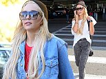 Amanda Bynes lands at LAX airport on a flight from New York.\n\nPictured: Amanda Bynes\nRef: SPL862723  101014  \nPicture by: Splash News\n\nSplash News and Pictures\nLos Angeles:\t310-821-2666\nNew York:\t212-619-2666\nLondon:\t870-934-2666\nphotodesk@splashnews.com\n