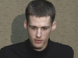 In this image taken from video, U.S. citizen Matthew Todd Miller speaks at an undisclosed location in North Korea Friday, Aug. 1, 2014. The US announced Saturday the release of Americans Miller and Kenneth Bae who were detained in North Korea, saying they're on way home. (AP Photo/APTN)