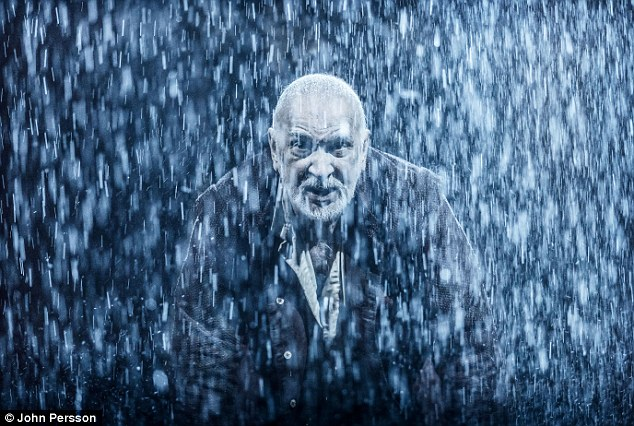 Test: Frank Langella, who was nominated for an Oscar after his portrayal of Richard Nixon in Frost/Nixon, is the latest Hollywood heavyweight to take on King Lear