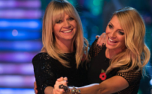 Zoe Ball joins Tess Daly to host the show