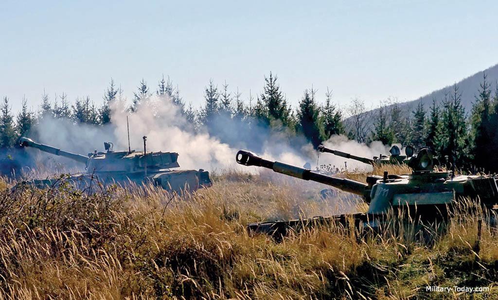 122 мм САУ 2С1 «Гвоздика»
