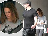 128909, Emily Blunt and John Krasinski wear work out clothes while out in LA. Los Angeles, California Photograph:    Survivor, PacificCoastNews. Los Angeles Office: +1 310.822.0419 sales@pacificcoastnews.com FEE MUST BE AGREED PRIOR TO USAGE