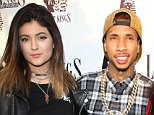 Mandatory Credit: Photo by MCP/REX (3589034e).. Kylie Jenner, Tyga and Kendall Jenner.. Last Kings Flagship Store Opening, Los Angeles, America - 20 Feb 2014.. ..