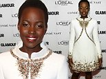 Mandatory Credit: Photo by REX (4240482s)\n Lupita Nyong'o\n Glamour Women of the Year Awards, New York, America - 10 Nov 2014\n \n