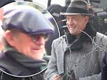"November 10, 2014: Tom Hanks on The Set of Steven Spielberg's upcoming cold war thriller ""St. James Place"" filming on location in Berlin, Germany.\nMandatory Credit: INFphoto.com Ref: infgebe-15