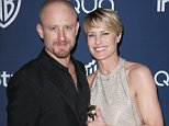 Mandatory Credit: Photo by Matt Baron/BEI/REX (3497583no).. Ben Foster and Robin Wright.. 71st Annual Golden Globe Awards, Warner Bros and InStyle After Party, Los Angeles, America - 12 Jan 2014.. ..