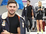"Picture Shows: Sami Miro  November 11, 2014    ""Neighbors"" star Zac Efron and his new girlfriend Sami Miro stop to check out a classic Mustang at a auto-restoration shop in City of Cerritos, California.    EXCLUSIVE  UK RIGHTS ONLY  Pictures by : FameFlynet UK    2014  Tel : +44 (0)20 3551 5049  Email : info@fameflynet.uk.com"