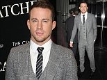 "Celebrities arrive for VIP screening of ""FOXCATCHER"", held at the Museum of Modern Art (""MoMA"") in NYC  Pictured: Channing Tatum Ref: SPL887556  111114   Picture by: Johns PKI / Splash News  Splash News and Pictures Los Angeles: 310-821-2666 New York: 212-619-2666 London: 870-934-2666 photodesk@splashnews.com"