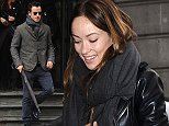 Picture Shows: Justin Theroux  November 12, 2014    Olivia Wilde and Justin Theroux are seen leaving a hotel in London, England.     Justin's fiance, actress, Jennifer Aniston, recently revealed he helped friend Jason Sudeikis pick out the engagement ring for Olivia Wilde.    Non Exclusive  WORLDWIDE RIGHTS    Pictures by : FameFlynet UK    2014  Tel : +44 (0)20 3551 5049  Email : info@fameflynet.uk.com