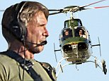 EXCLUSIVE: Harrison Ford flies his helicopter as soon he arrived in Los Angeles from the Star Wars set.\n\nPictured: Harrison Ford\nRef: SPL880516  101114   EXCLUSIVE\nPicture by: Splash News\n\nSplash News and Pictures\nLos Angeles:\t310-821-2666\nNew York:\t212-619-2666\nLondon:\t870-934-2666\nphotodesk@splashnews.com\n