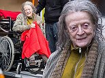 Maggie Smith Filming The Lady in the Van Featuring: Maggie Smith Where: London, United Kingdom When: 11 Nov 2014 Credit: WENN.com