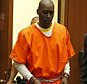 """EXCLUSIVE: Michael Jace former """"Shield"""" actor appears in court in Los Angeles, CA. Jace is alleged to have murdered his wife by shooting and is currently incarcarated.  Pictured: Michael Jace Ref: SPL888740  131114   EXCLUSIVE Picture by: Toby Canham/Splash News  Splash News and Pictures Los Angeles: 310-821-2666 New York: 212-619-2666 London: 870-934-2666 photodesk@splashnews.com"""