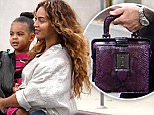 ©2014 RAMEY PHOTO 310-828-3445\nEXCLUSIVE!\nBeverly Hills, California, November 11, 2014\nBeyonce, Jay-Z, and daughter Blue Ivy going to Saks Fifth Avenue in Beverly Hills.\nRC