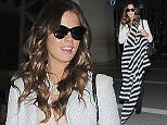 UK CLIENTS MUST CREDIT: AKM-GSI ONLY EXCLUSIVE: Part 2 - Kate Beckinsale and her look-alike teen daughter Lily Sheen make their way through the airport at LAX. The 41-year-old actress showed off her slender frame in a white jacket over a light pink blouse, black skinnies and matching black boots.  Pictured: Kate Beckinsale  Ref: SPL889129  121114   EXCLUSIVE Picture by: AKM-GSI
