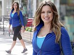 Kelly was spotted early in the morning on the set of a Sketchers foot ware commercial. Bubbly, smiling and clearly enjoying her self, Kelly worse work out clothes and a blue pair of sneakers which will presumably be part of a new line of foot ware. \n\nPictured: Kelly Brook \nRef: SPL888663  131114  \nPicture by: Splash News\n\nSplash News and Pictures\nLos Angeles: 310-821-2666\nNew York: 212-619-2666\nLondon: 870-934-2666\nphotodesk@splashnews.com\n