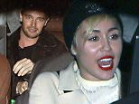 Hollywood, CA - Miley Cyrus and Patrick Schwarzenegger appear to be taking their relationship to a new level as they attend the 'Still Alice' Q&A together at Hollywood's Egyptian Theatre.  The budding couple, accompanied by Katherine Schwarzenegger and Maria Shriver, kept it low-key outside the venue. Shriver, who is the executive producer of the film, joined Kristen Stewart and Julianne Moore at the Q&A as part of AFI Fest 2014.  AKM-GSI           November 12, 2014 To License These Photos, Please Contact :    Steve Ginsburg  (310) 505-8447  (323) 423-9397  steve@akmgsi.com  sales@akmgsi.com    or    Maria Buda  (917) 242-1505  mbuda@akmgsi.com  ginsburgspalyinc@gmail.com