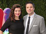 """NBCUNIVERSAL EVENTS -- The NBC Emmy Party -- Pictured: (l-r) Casey Wilson, David Caspe """"Marry Me"""" at Boa Steakhouse, West Hollywood, Calif., August 24, 2014 -- (Photo by: Chris Haston/NBC/NBCU Photo Bank)"""