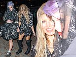 Fergie and Kelly Osbourne leave a dinner charity and then go party at LOVEGUN night club in brooklyn NY.  Pictured: Fergie Kelly Owsborunew Ref: SPL889166  121114   Picture by: IGGI / Splash News  Splash News and Pictures Los Angeles: 310-821-2666 New York: 212-619-2666 London: 870-934-2666 photodesk@splashnews.com