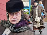 Maggie Smith spotted filming 'The Lady in the Van' in Broadstairs, kent. Featuring: Maggie Smith Where: London, United Kingdom When: 13 Nov 2014 Credit: WENN.com