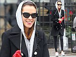 A happy Alexa Chung shows off her gym fashion in NYC.  A happy and smiling Alexa was spotted walking back to her apartment after ballet class in NYC's East Village neighborhood.  Pictured: Alexa Chung Ref: SPL888055  121114   Picture by: Tom Meinelt / Splash News  Splash News and Pictures Los Angeles: 310-821-2666 New York: 212-619-2666 London: 870-934-2666 photodesk@splashnews.com